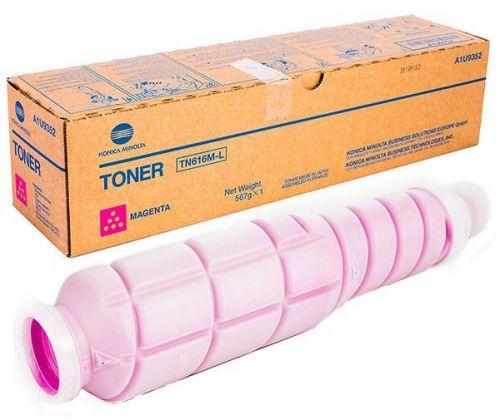 Тонер-картридж Konica Minolta TN-616M-L A1U9352 пурпурный, Konica-Minolta bizhub PRO C6000L