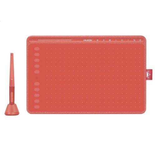 Графический планшет Huion HS611 coral red графический планшет huion inspiroy hs610 черный
