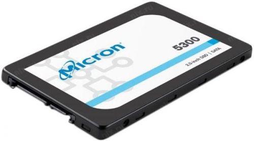 Накопитель SSD 2.5'' Crucial MTFDDAK480TDT-1AW1ZABYY Micron 5300MAX 480GB SATA Enterprise Solid State Drive