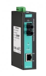 Медиа-конвертер MOXA IMC-21A-M-ST 10/100BaseT(X) to 100BaseFX, multi mode, ST