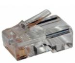 Коннектор TWT TWT-PL12-6P4C/100 телефонный RJ-12 6P4C для розетки (100шт.) коннектор rj 12 6p4c 100шт proconnect 05 1012 3