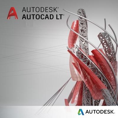 Autodesk AutoCAD LT 2019 Single-user ELD 3-Year