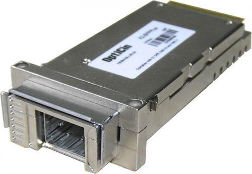Адаптер SFP+ Opticin X2-SFPPlus позволяет использовать SFP+ модули для X2 интерфейса
