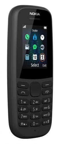 Мобильный телефон Nokia 105 SS 16KIGB01A19 black w/o charger мобильный телефон nokia 105 white