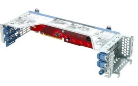 Опция HPE 826688-B21 HPE DL38X Gen10 2SFF HDD SAS/SATA Riser Kit
