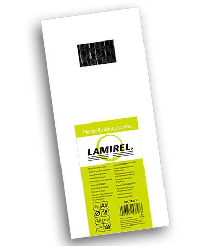 Фото - Пружина Fellowes LA-78677 пластиковая Lamirel, 16 мм, черный, 100шт чистящие салфетки fellowes lamirel la 5144001 100 шт