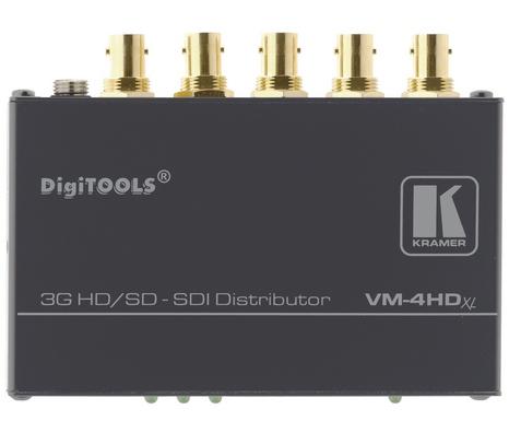 Усилитель-распределитель Kramer VM-4HDXL 90-701310090 1:4 сигналов SDI/HD-SDI (3G)