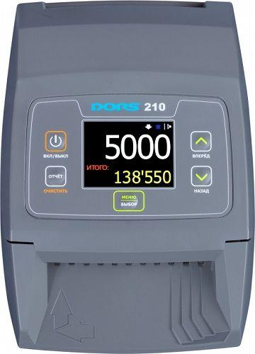 Детектор банкнот автоматический DORS 210 FRZ-036193 Compact (RUS, RUB, без аккумулятора)