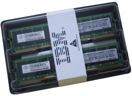 IBM 8GB RDIMM (2x4GB Kit) PC2-5300 CL5 ECC LP (41Y2768