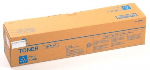 Тонер Konica Minolta TN-213C A0D7452 голубой (19K) Konica-Minolta bizhub C203/C253