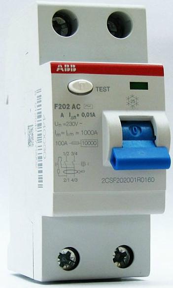 ABB F202 AC-16/0,01