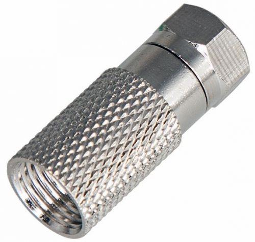 Разъем PROconnect 05-4005-4-9 антенный на кабель, штекер F для кабеля SAT (с резиновым уплотнителем), (5шт.) (пакет)