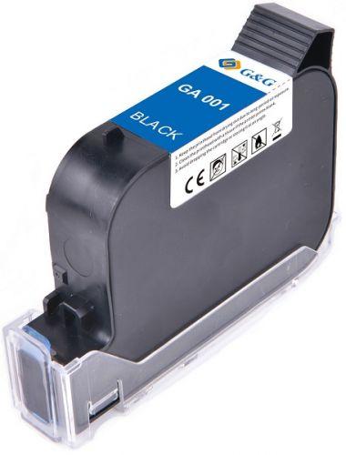 Картридж струйный G&G GA-001BK черный для принтеров GG-HH1001B, GG-HH1001A, 42 ml