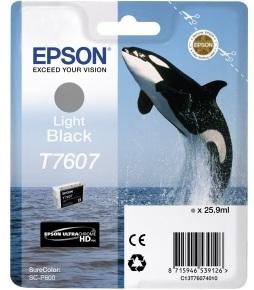 Картридж Epson C13T76074010 для принтера T760 SC-P600, серый
