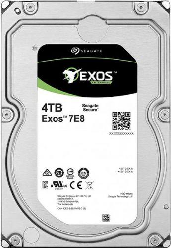Фото - Жесткий диск 4TB SAS 12Gb/s Seagate ST4000NM005A 3.5 Exos 7E8 7200rpm 256MB жесткий диск 2tb sas 12gb s seagate st2000nm003a exos 7e8 512n 3 5 7200rpm
