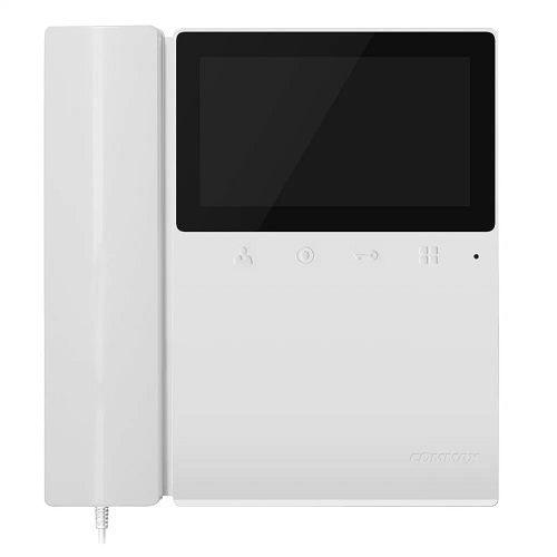 Монитор COMMAX CDV-43K цветной видеодомофон с трубкой на 1 камеру. Экран 4,3 дюйма (10,92 см) LCD TFT с LED-подсветкой, обеспечивающей чёткое и насыще
