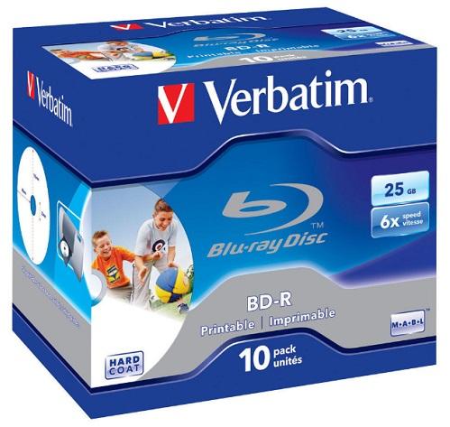 43713 Диск BD-R Verbatim 43713 Verbatim 43713 (10)