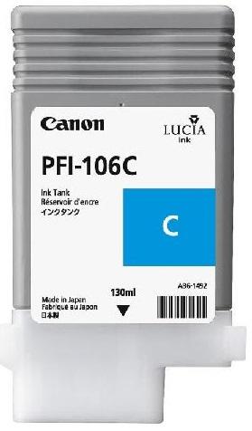 Картридж Canon PFI-106C - 6622B001