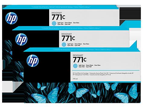 Картридж HP B6Y36A Light Cyan Ink Cartridge 3-Pack