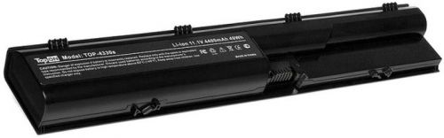 Аккумулятор для ноутбука HP TopOn TOP-4330s для моделей ProBook 4330s, 4430s, 4435s, 4440s, 4530s, 4540s 11.1V 4400mAh 49Wh. PN: HSTNN-LB2R, QK646UT аккумулятор для ноутбука hp probook 4230 4230s series 4400мач 11 1v topon top hp4230